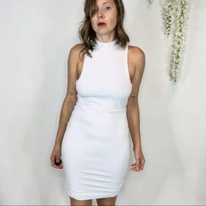 NWT LOVERS + FRIENDS ribbed dress open back 1237